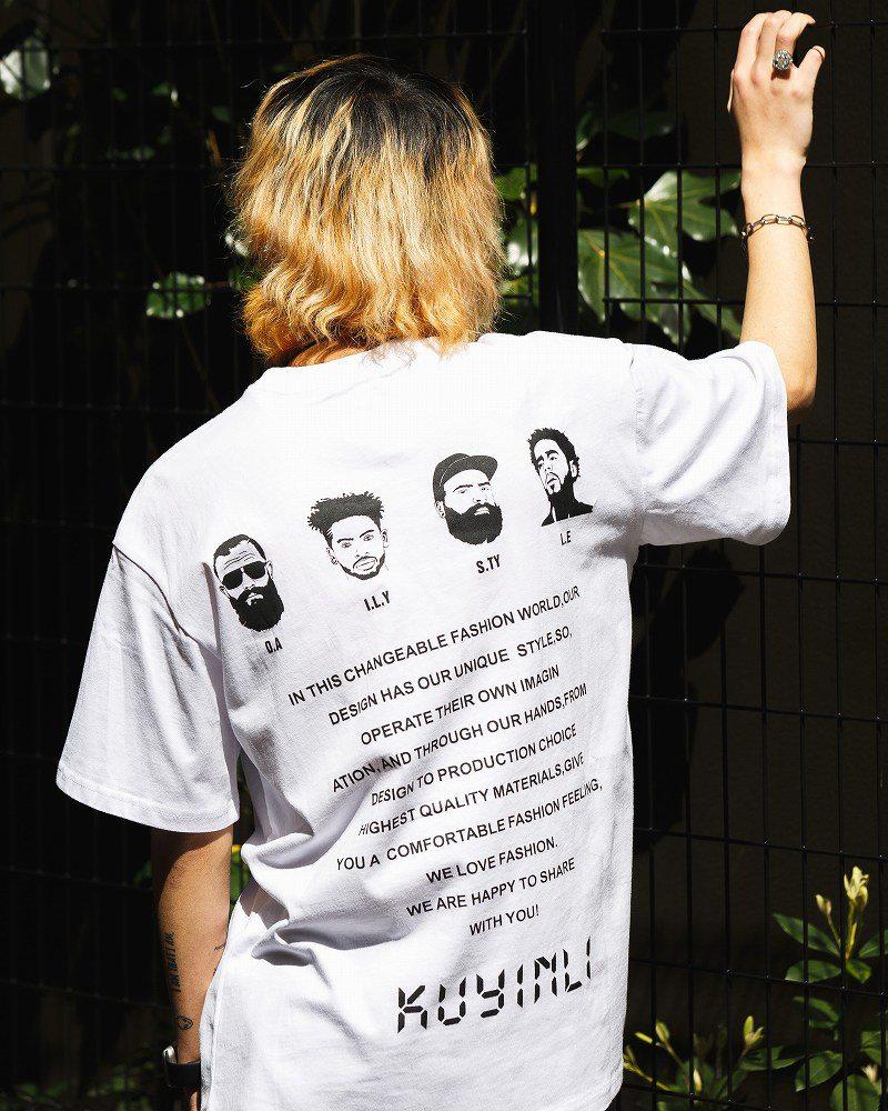 《2色》4guysTシャツの画像2